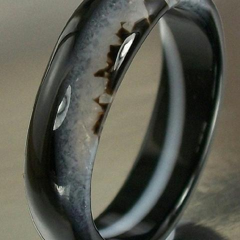Beautiful Agate Ring US Size 9